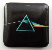 Pink Floyd - 'Dark Side of the Moon' Square Plastic Badge